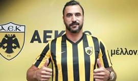 Grécia: Hugo Almeida estreia-se com 2 golos pelo AEK