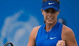 Michelle Brito regressa aos courts com vitória em longa batalha