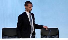Novo presidente da UEFA junta expectativa e algum ceticismo