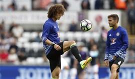 David Luiz titular contra o Liverpool