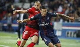 PSG na liderança provisória à espera do Monaco