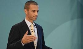 Presidente da UEFA reafirma convicção em alterar modelo da Champions