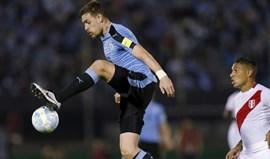 Coates chamado à seleção uruguaia para jogos em outubro