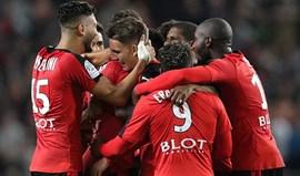 Rennes encerra 6.ª jornada a vencer Marselha por 3-2