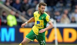 Ivo Pinto marca pelo Norwich
