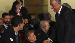Presidente da República recebeu atletas paralímpicos antes da partida