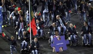 Aquele abraço aqueceu a cerimónia de abertura dos Jogos Paralímpicos