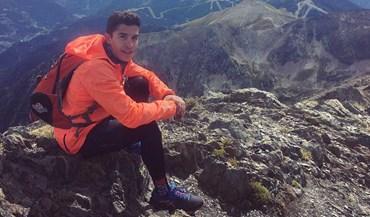 Marc Márquez subiu ao ponto mais alto de Andorra