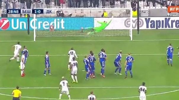 É este golo de Quaresma o melhor da 2.ª jornada da Champions