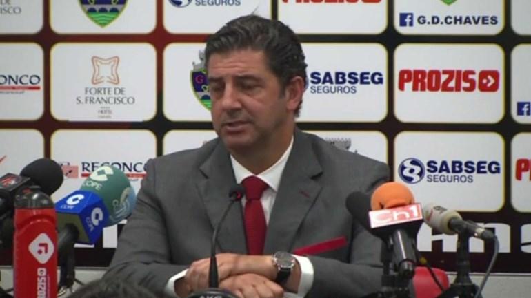 Rui Vitória reconhece lentidão de processos no primeiro tempo