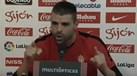 Guarda-redes do Sp. Gijón 'passou-se' e chamou idiota a jornalista