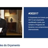 OE'2017: Governo criou site para dar a conhecer grandes prioridades