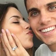 Marc Bartra está noivo