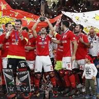 Benfica bate OC Barcelos e conquista a Taça Continental