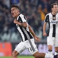 Bis de Dybala torna Juventus mais líder