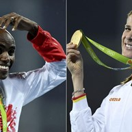 Mo Farah e Ruth Beitia eleitos atletas europeus do ano