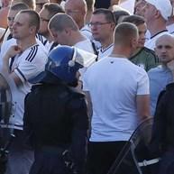 Três adeptos do Legia detidos por desacatos em Madrid