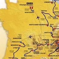 Conheça o percurso da Volta a França 2017