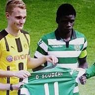 Jogador do Borussia Dortmund agradece gesto dos leões