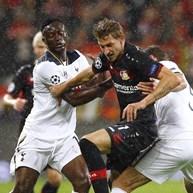 Grupo E: Bayer Leverkusen e Tottenham não saem do nulo