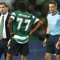 Bruno de Carvalho não se 'poupou' nos protestos à arbitragem