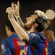 Grupo C: Hat trick de Messi no regresso de Guardiola a Barcelona