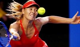 Sharapova volta aos courts para torneio de beneficência