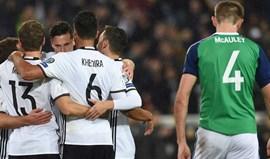 Grupo C: Dois golos em quatro minutos dão triunfo à Alemanha