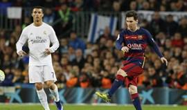 Barcelona-Real Madrid sem transmissão TV no Reino Unido