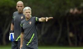 Benfica lidera convocatória em estágio de observação