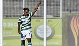 MTK-Sporting B, 2-2: Matheus brilhou em noite de homenagem