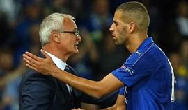 Ranieri: «O impacto de Slimani foi muito bom mas ele ainda vai melhorar mais»