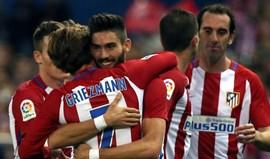 At. Madrid arrasa Granada com golo de Tiago