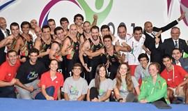 Portugal termina Europeu de Teamgym em quarto