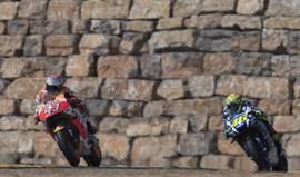 Marc Márquez ameaça lenda de Valentino Rossi
