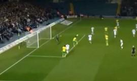 Primeiro golo de Nélson Oliveira no Norwich