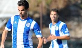 Vizela-Gil Vicente, 1-0: Golo solitário de Lamelas