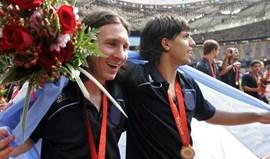 Certificado de medalha olímpica de Messi... está em leilão