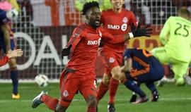 MLS: Toronto vence New York City com dois golos nos últimos minutos