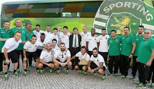 Bruno de Carvalho despede-se da equipa de futsal