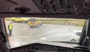 Avião do Fenerbahçe obrigado a aterragem de emergência por causa disto