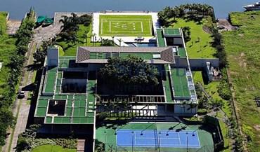Piscina, campos de ténis e até um heliporto: A nova mansão de Neymar tem... tudo