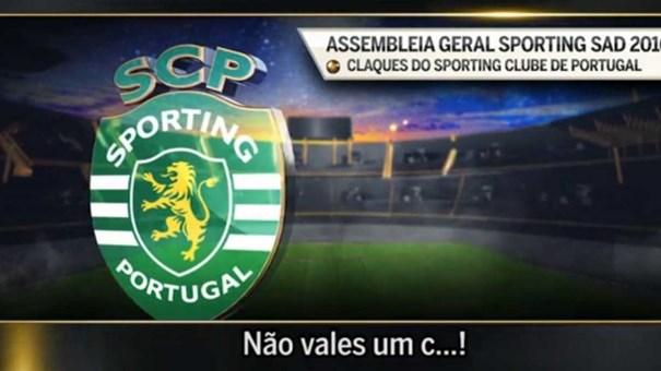Oiça a gravação das alegadas 'perturbações' das claques na AG do Sporting