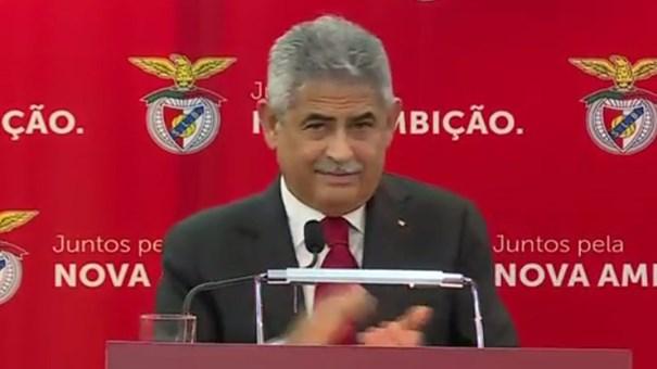 Vieira pediu salva de palmas para Rui Gomes da Silva