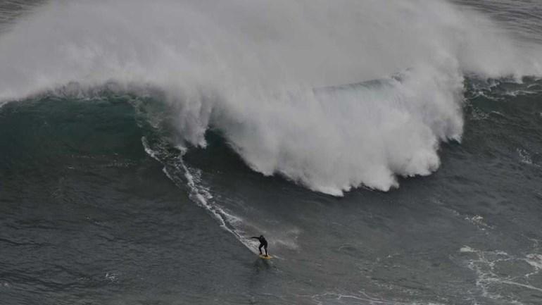Nazaré recebe prova europeia do Mundial de ondas grandes