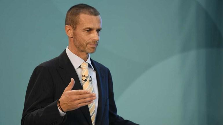 Presidente da UEFA vai compensar ligas de menor dimensão