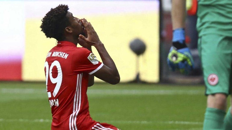 Bayern Munique tropeça em casa do Eintracht Frankfurt