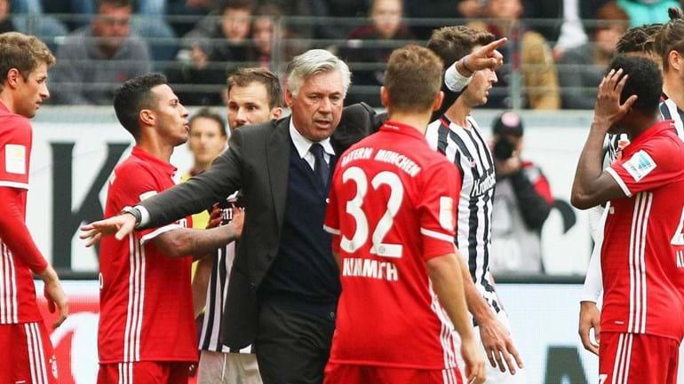 Ancelotti: «Não gostei da atitude dos meus jogadores»