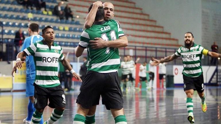 UEFA Futsal Cup: Sporting fecha Ronda Principal com goleada