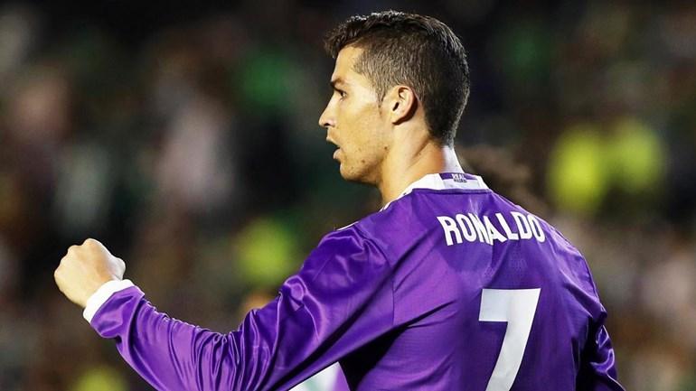 Cristiano Ronaldo ajuda Real Madrid a golear em Sevilha